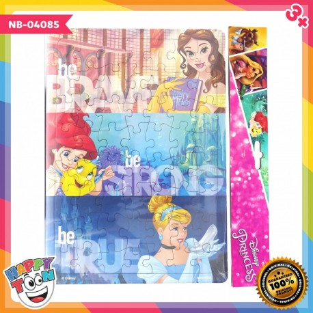 Puzzle Large - Disney Princess - Be Brave Be Strong Be True