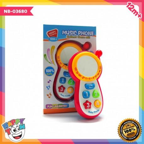 Baby Music Phone - Mainan telepon bayi