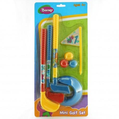 Barney Mini Golf Set