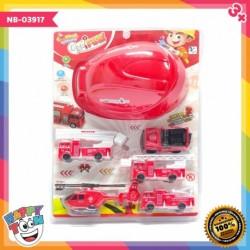 Mainan mobil pemadam kebakaran - kendaraan pemadan kebakaran