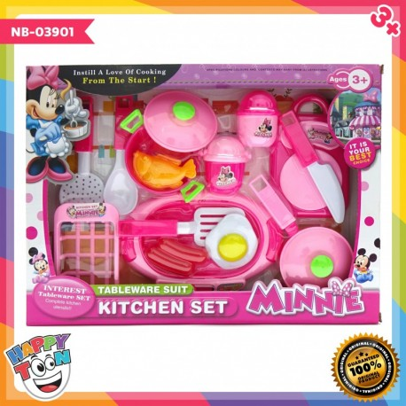 Minnie Kitchen Set - Mainan peralatan dapur Minnie