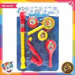 Doraemon Music Set - Mainan Alat Musik - NB-04114