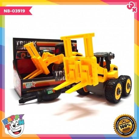 Truck Assemble - Forklift - Mainan Forklift - NB-03919