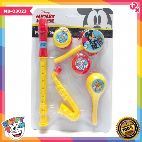 Mickey Mouse Music Set - Mainan Alat Musik - NB-03023