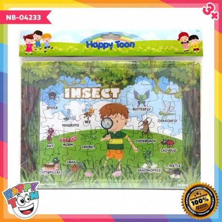 Puzzle Large - Insect - Puzzle Serangga - NB-04232