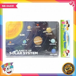 Puzzle Regular - Planets of Solar System - Puzzle Tata Surya - NB-04031