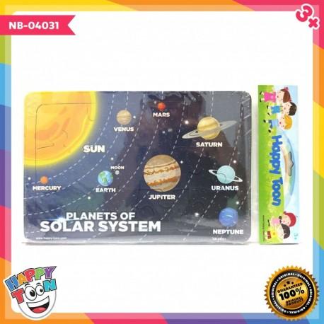 Puzzle Regular - Planets of Solar System - Puzzle Tata Surya - NB-04031