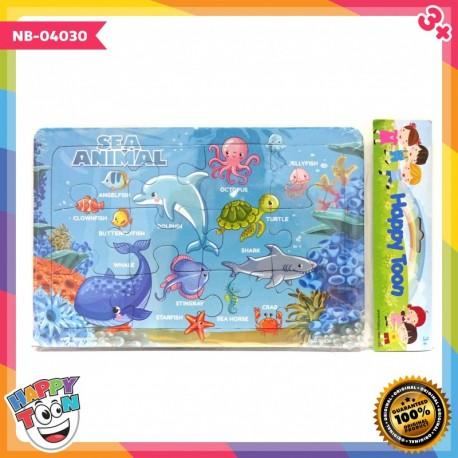 Puzzle Regular - Sea Animal - Puzzle Hewan Laut - NB-04030