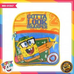 Tas Ransel Spongebob Ukuran 10 inch - MB-01347
