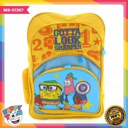 Tas Ransel SpongeBob Ukuran 16 inch MB-01367