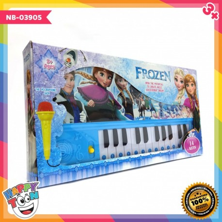 Frozen Piano Microphone Toy Mainan Piano Mikrofon Karaoke - NB-03905