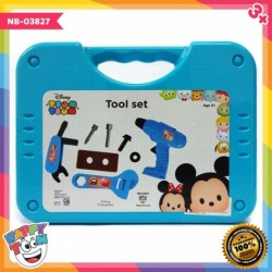 Tsum Tsum Tool Set Box Toy Mainan Alat Tukang - NB-03827
