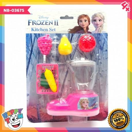Frozen 2 Blender Fruit Juice Toy Mainan Juicer Blender - NB-03675