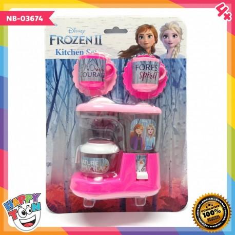 Frozen 2 Kitchen Set Toy Mainan Anak Coffee Maker - NB-03674