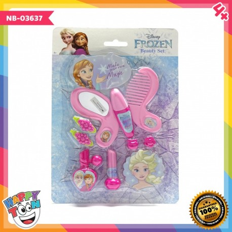 Frozen 2 Beauty Set Make Up Toy Mainan Alat Salon - NB-03637