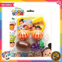 Tsum Tsum Cutting Food Mainan Buah Potong NB-03943