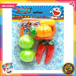 Doraemon Cutting Food Mainan Buah Potong NB-03942