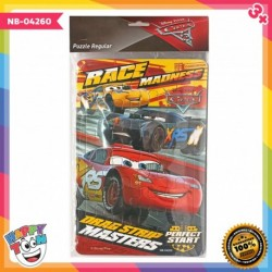 Puzzle Regular - Cars Race Madness- NB-04260