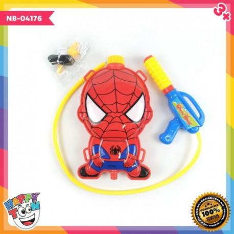 Spiderman Water Gun Mainan Tembakan Air - NB-04176