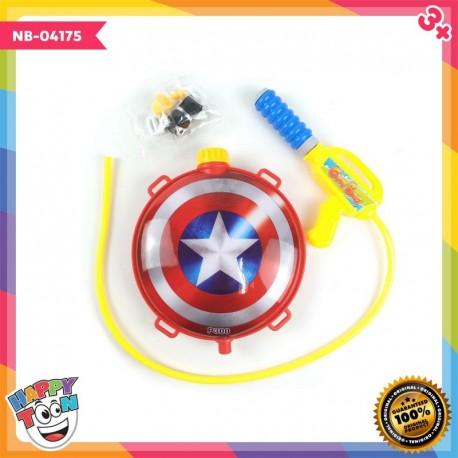 Captain America Water Gun Mainan Tembakan Air - NB-04175