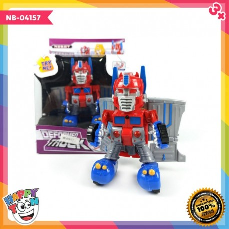 Deformed Truck - Transformers - Mainan Robot Mobil Truck - NB-04157