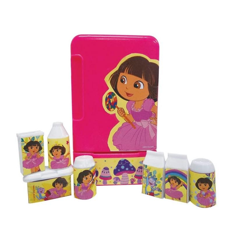 Dora kitchen set collection refrigerator happy toon for Toko kitchen set
