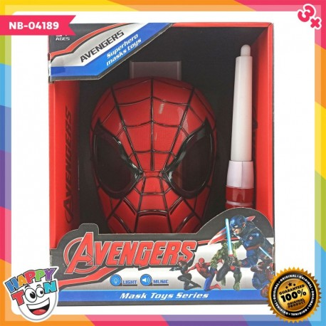 Spiderman Mask & Lightsaber Mainan Topeng & Pedang - NB-04189