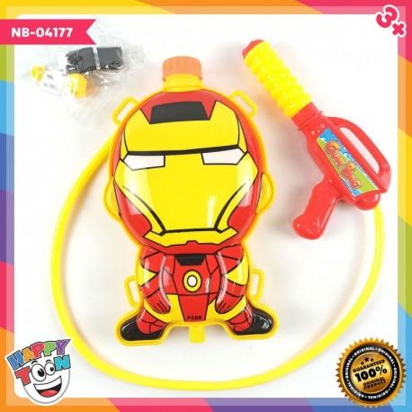 Iron Man Water Gun Mainan Tembakan Air - NB-04177