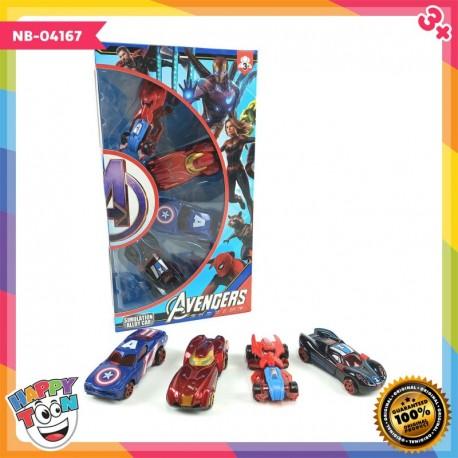 Avengers Alloy Car Mainan Mobil Mobilan Avenger - NB-04167