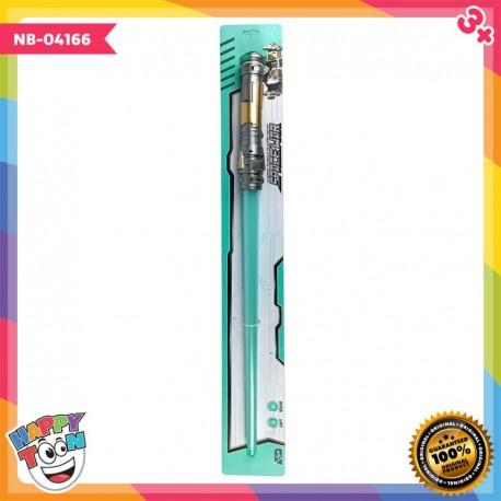 Space Wars Light Saber Mainan Pedang Lampu - NB-04166