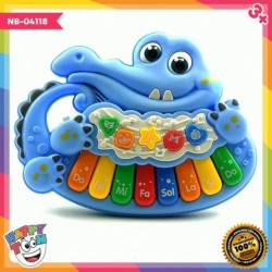 Aligator Piano Fun Music Mainan Piano Keyboard NB-04118