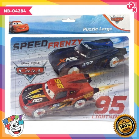 Puzzle Large - Cars Speed Frenzy - NB-04284