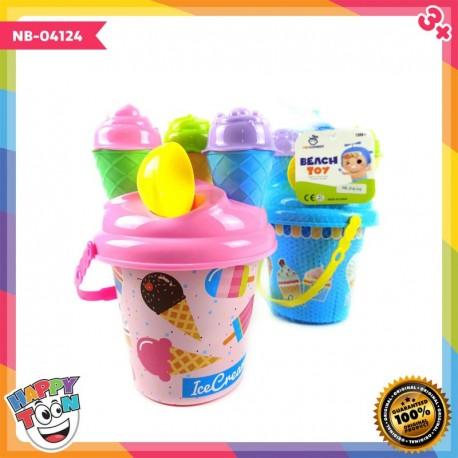 Ice Cream Bucket Ember Es Krim - NB-04124