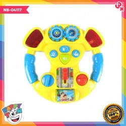 Music Steering Wheel Setir Mobil Baby Toy - NB-04117