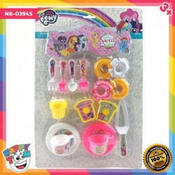 My Little Pony Sweet Day Tea Set Toy - NB-03945