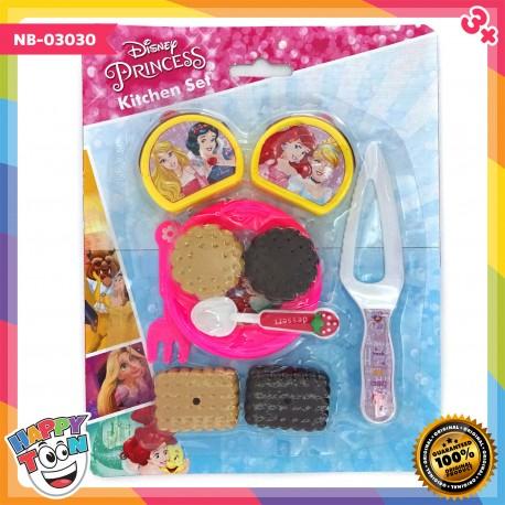 Disney Princess Cake and Biscuit Food Kitchen Mainan Kue - NB-03030