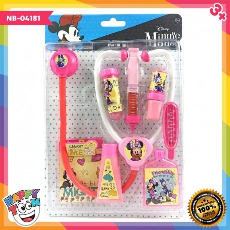 Minnie Mouse Doctor Set Mainan Dokter Dokteran - NB-04181