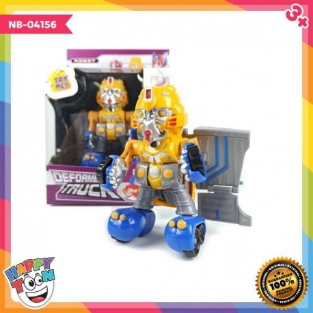 Deformed Truck - Transformers - Mainan Robot Mobil Truck - NB-04156