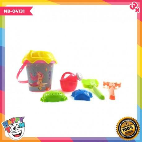 Beach Toy Bucket - Mainan Peralatan Main pasir - NB-04131