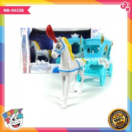 Fashion Carriage - Mainan Kereta Kuda Princess - NB-04126