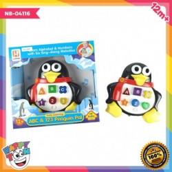 Early Learning Penguin Pal - Mainan Baby Belajar Bentuk Angka Huruf - NB-04116