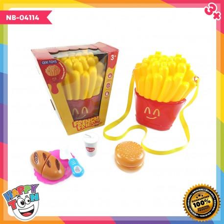 French Fries Bag Toy - Mainan Tas Kentang Goreng - NB-04144