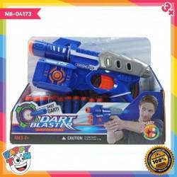 Dart Blaster Airgun - Mainan Pistol Pistolan mirip Nerf - NB-04173
