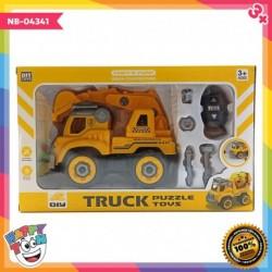 Truck Excavator Construction Toy Mainan Truk Penggali Tanah NB-04341