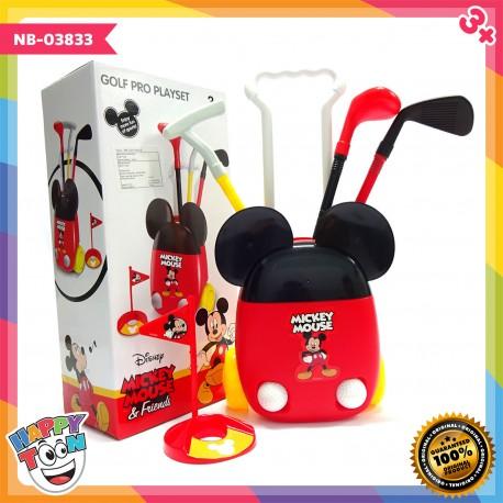 Mickey Mouse Golf Set Mainan Olah Raga Golf NB-03833