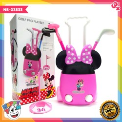 Minnie Mouse Golf Set Mainan Olah Raga Golf NB-03834