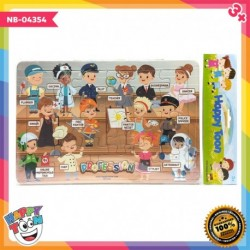 Puzzle Regular Profession Profesi NB-04354