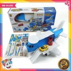 Airplane Car Storage Mainan Pesawat Terbang Penyimpan Mobil NB-04295