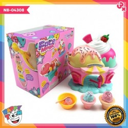 Ice Cream Set Face Magic Toy Mainan Es Krim NB-04308