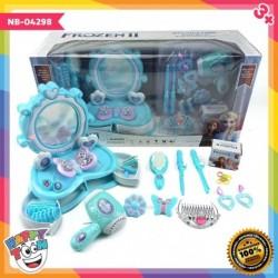 Frozen Beauty Play Set Mainan Make Up Table NB-04298